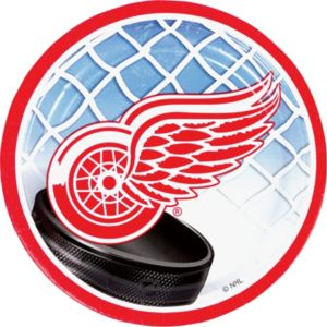 Detroit Red Wings Dessert Plates 8ct