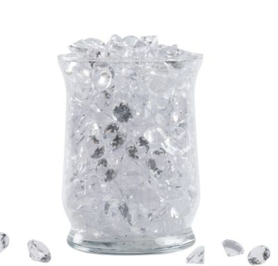 Clear Sparkling Diamond Scatters 30oz