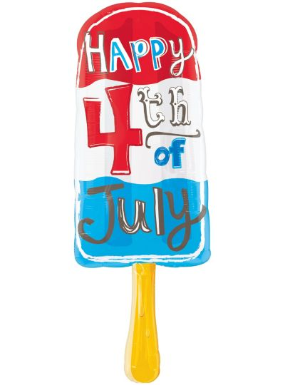 4th of July Balloon - Popsicle