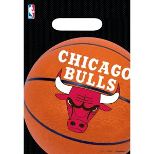 Chicago Bulls Favor Bags 8ct