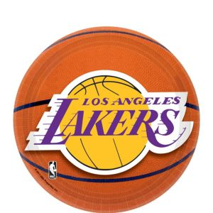 Los Angeles Lakers Dessert Plates 8ct