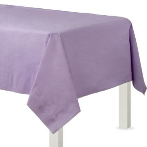 Lavender Paper Table Cover