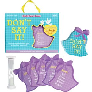 Don't Say It Bridal Shower Game