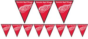 Detroit Red Wings Pennant Banner