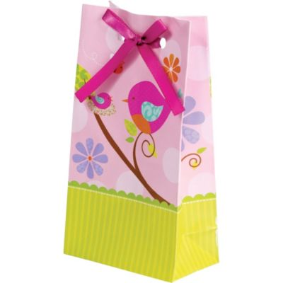 Tweet Baby Girl Baby Shower Favor Bags 12ct