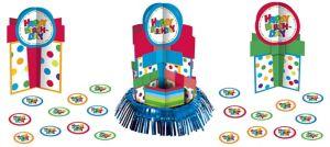 Boy Birthday Centerpiece Kit 23pc