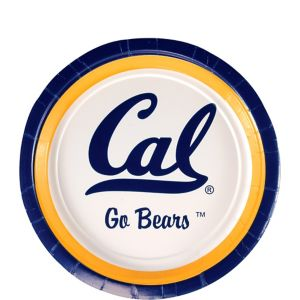 Cal Bears Dessert Plates 12ct