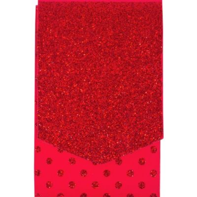 Glitter Red Purse Notepad