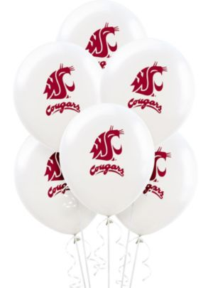 Washington State Cougars Balloons 10ct