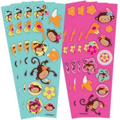 Monkey Love Stickers 92ct