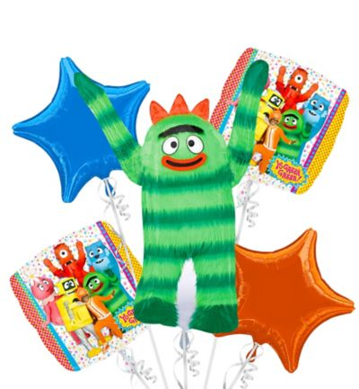 Yo Gabba Gabba! Balloon Bouquet 5pc
