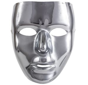 Basic Silver Face Mask