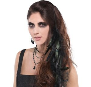 Gothic Feather Hair Extension