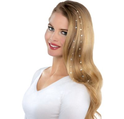 Sparkling Gem Hair Extensions 2ct