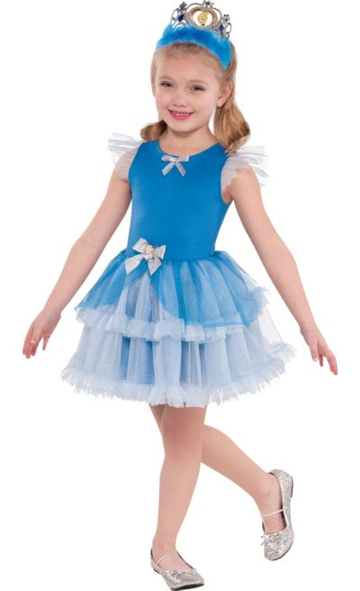 Girls Tutu Cinderella Dress