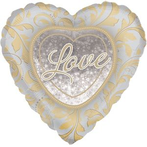 Wedding Balloon - Love Heart
