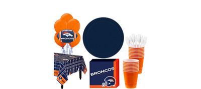 Denver Broncos Super Party Kit for 18 Guests