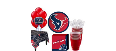 Houston Texans Super Party Kit for 18 Guests