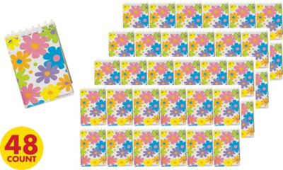 Flower Notepads 48ct