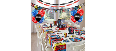 Power Rangers Party Supplies Super Party Kit