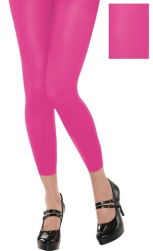 Footless Pink Tights