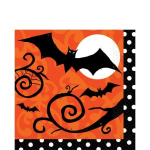 Frightfully Fancy Lunch Napkins 36ct
