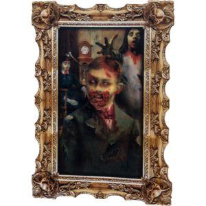 Boy Zombie Lenticular Portrait