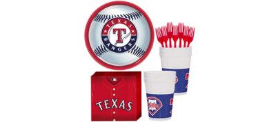 Texas Rangers Basic Fan Kit
