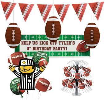 Football Frenzy Basic Party Kit for 50 Guests