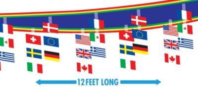 International Flag Ceiling Decorations
