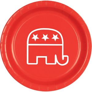Republican Lunch Plates 8ct