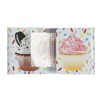 Cupcake Flag Page Markers 72pc