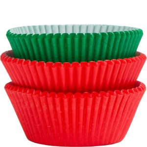 Red & Green Baking Cups 75ct