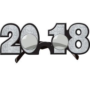 Glitter Silver 2017 Glasses