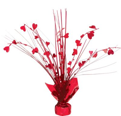 Heart Spray Centerpiece