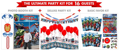 Avengers Party Supplies Ultimate Party Kit