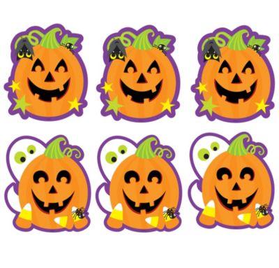 Pumpkin Cutouts 12ct