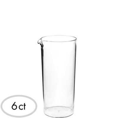 Mini CLEAR Plastic Pitchers 6ct