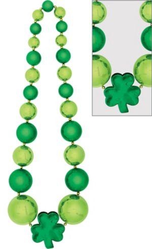 Giant Shamrock Bead Necklace