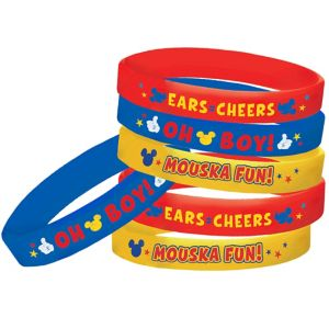 Mickey Mouse Wristbands 6ct