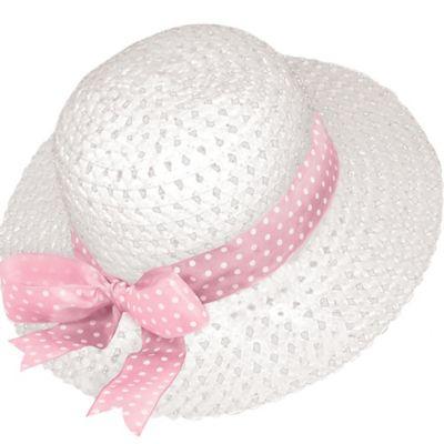 Easter Straw Bonnet