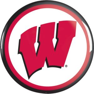 Wisconsin Badgers Button