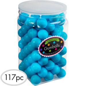 Caribbean Blue Gumballs 115pc