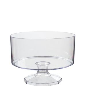 Small CLEAR Plastic Trifle Container
