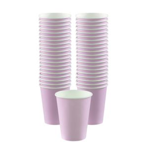 BOGO Lavender Paper Coffee Cups 12oz 40ct