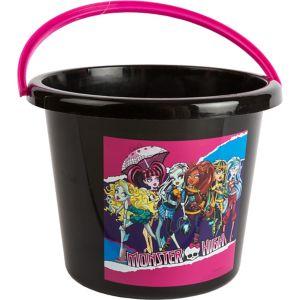 Plastic Monster High Easter Trick or Treat Bucket
