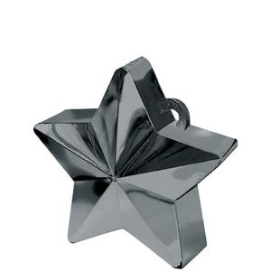Black Star Balloon Weight 6oz