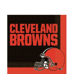 Cleveland Browns Lunch Napkins 36ct