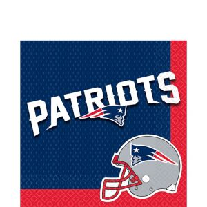New England Patriots Lunch Napkins 36ct