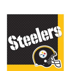 Pittsburgh Steelers Lunch Napkins 36ct